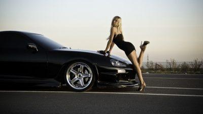 Car & girl 2