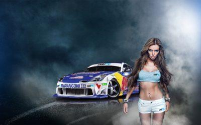Car & girl